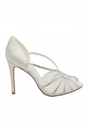 Sandale damă elegante ivory