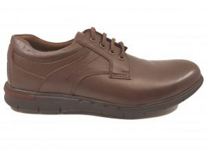 Pantofi casual maro  din piele naturală