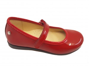 Pantofi fete rosii din lac