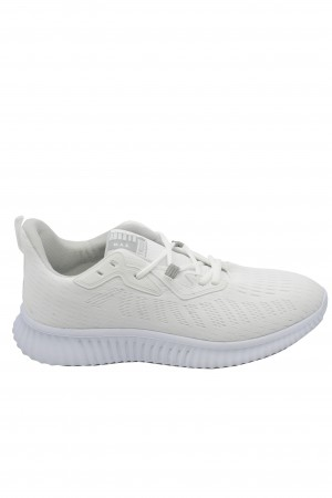 Pantofi sport albi bărbați din material textil, Ryt Bentley