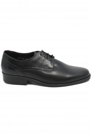 Pantofi bărbați eleganți negri din piele naturală