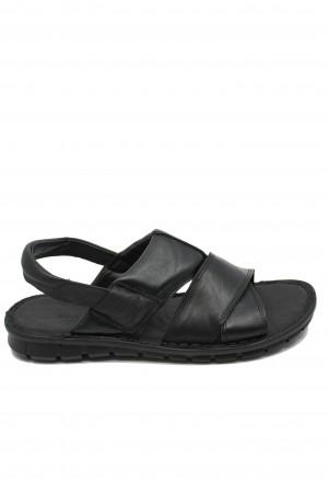 Sandale negre ușoare pentru bărbați