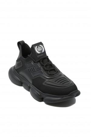 Pantofi sport bărbați Franco Gerardo din material textil cu inserții de cauciuc