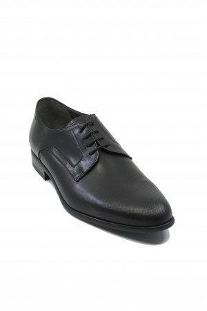 Pantofi negri Oxford din piele naturală de vită