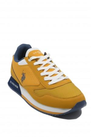 Pantofi sport ocru bărbați  Nobil by US POLO ASSN