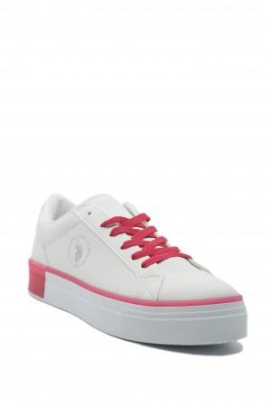 Pantofi sport Mazza albi US POLO ASSN