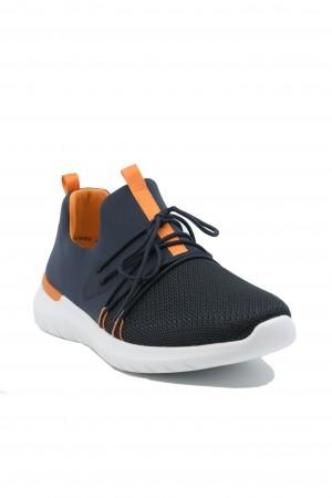 Sneakers damă bleumarin din material textil