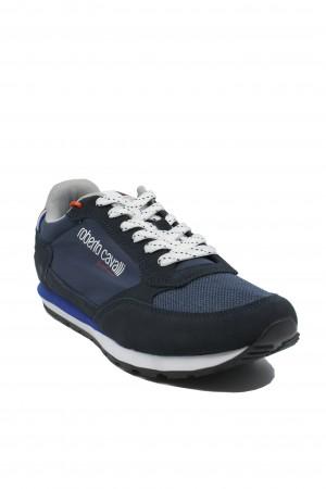 Pantofi sport bărbați Roberto Cavalli navy