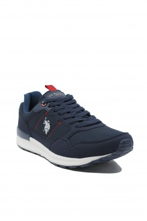 Pantofi sport bleumarin bărbați, Lund by US POLO ASSN