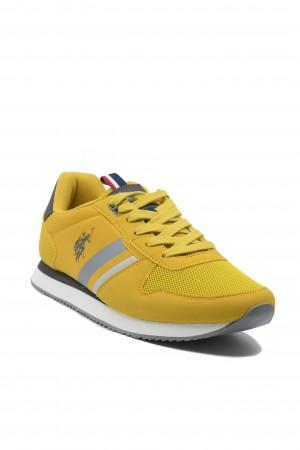 Pantofi sport bărbați ocru, Nobil by US POLO ASSN