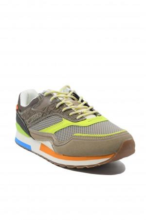 Pantofi sport bărbați Gas Sinder Mix bej-neon