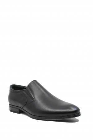 Pantofi eleganți Gitanos negri din piele naturală