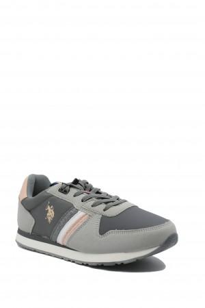 Pantofi sport damă Nobik gri, US POLO ASSN