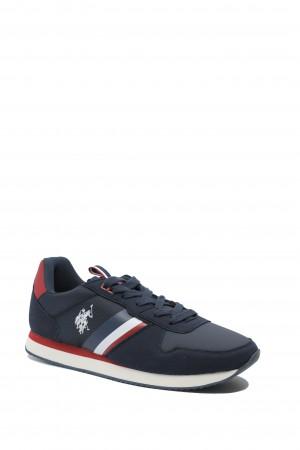 Sneaker bărbați, bleumarin, Nobil by US POLO ASSN