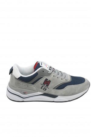 Pantofi sport bărbați Zip, gri ciment