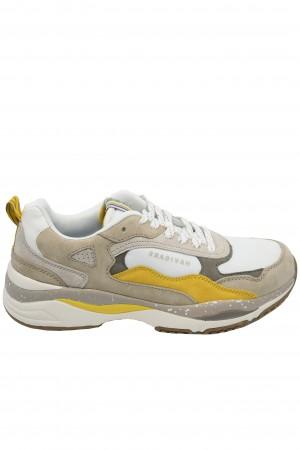 Pantofi sport bărbați Storm, crem cu bej
