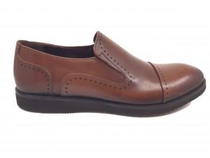 Pantofi maro bărbați din piele naturală