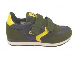 Pantofi sport băieți verde/gri
