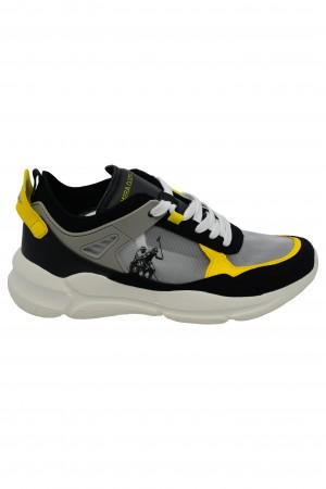 Pantofi sport negri Albert U.S. POLO ASSN.