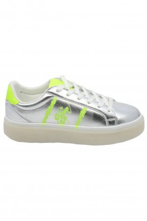 Pantofi sport Blanch argintii US POLO ASSN