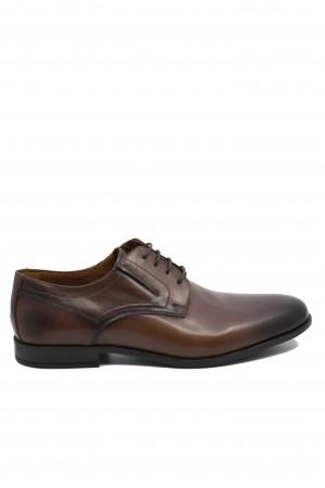Pantofi eleganți maro pentru bărbați din piele naturală