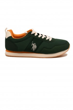 Pantofi sport verzi bărbați U.S. POLO ASSN.
