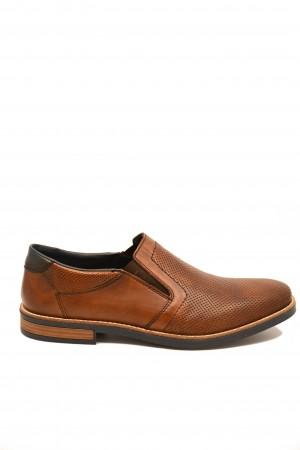 Pantofi bărbați casual maro din piele naturală
