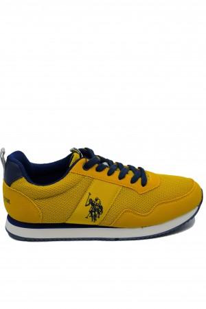 Pantofi sport galbeni bărbați U.S. POLO ASSN.