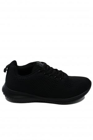 Pantofi sport damă negri din material textil, Ryt Paris