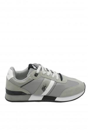 Pantofi sport bărbați Barry Gri US POLO ASSN