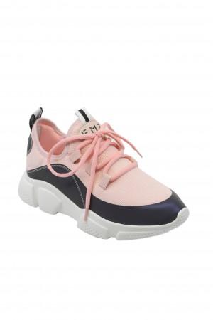 Pantofi sport damă FMZ roz, din material textil