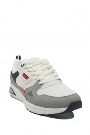 Pantofi sport albi bărbați din material textil, Venus by US POLO ASSN