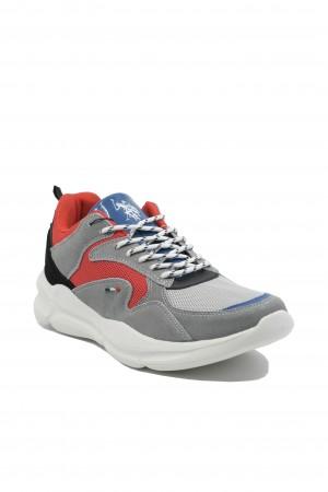 Pantofi sport Arvan gri+roșu U.S. POLO ASSN