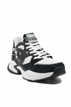 Pantofi sport bărbați Etonic negru cu alb