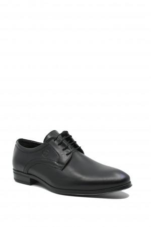 Pantofi negri eleganți Gitanos din piele naturală