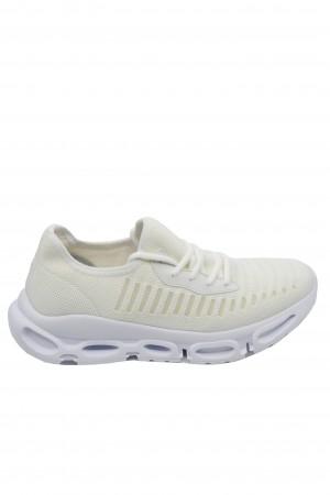 Pantofi sport albi bărbați din material textil, Ryt Miami