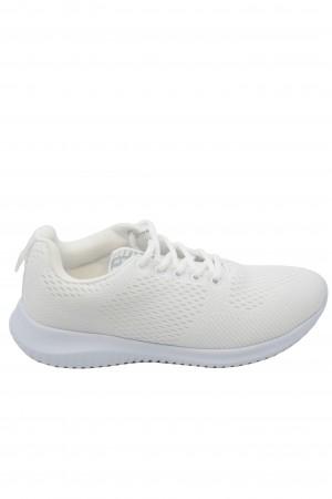 Pantofi sport damă albi din material textil, Ryt Paris