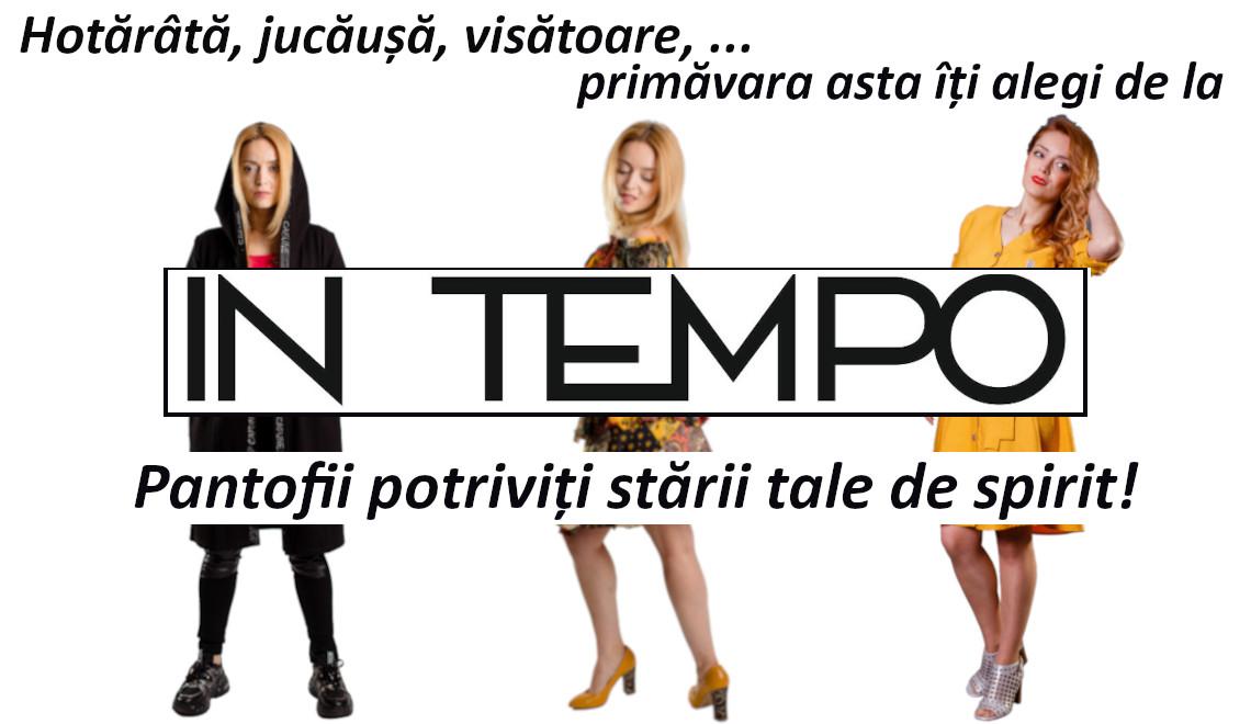 Hotărâtă, jucăușă, visătoare... Primăvara asta îți alegi de la In Tempo pantofii potrivitți stării tale de spirit!