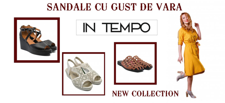 Sandale cu gust de vară